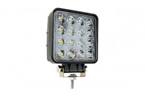 Lampa de lucru 16x LED pătrat 12 / 24V1