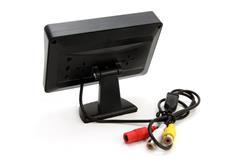 """Set de senzori de parcare TFT de 4,3 """"cu camera HD-315-LED 4 senzori albi [2]"""