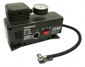 Compresor auto 12V / 230V0