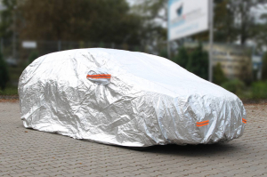 Prelata auto - mărimea XL argintiu2