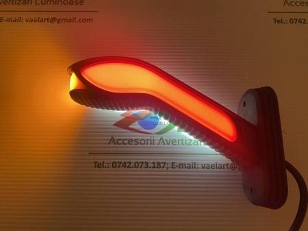 Lampa gabarit cu neon si semnal dinamic V202008 dreapta3