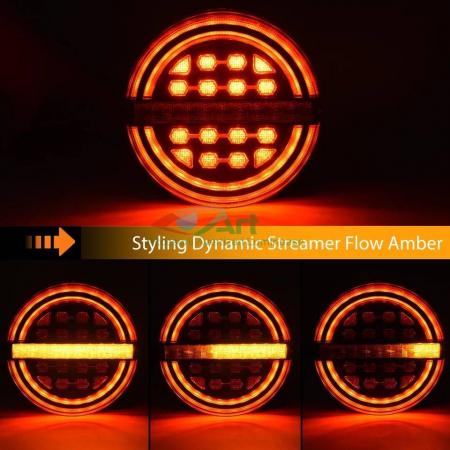 Lampa stop LED semnal dinamic fi139 V1909 [7]