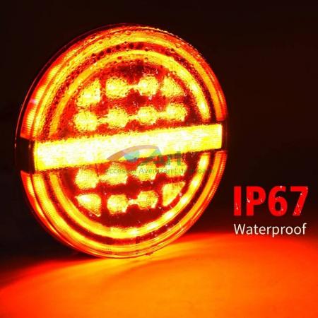 Lampa stop LED semnal dinamic fi139 V1909 [6]
