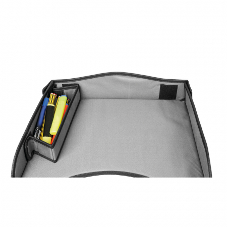 Masuta scaun auto copil pentru calatorie Snack & Play Lampa - Gri [3]