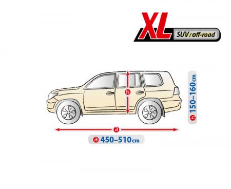 Prelata auto completa Optimal Garage - XL - SUV/Off-Road [1]