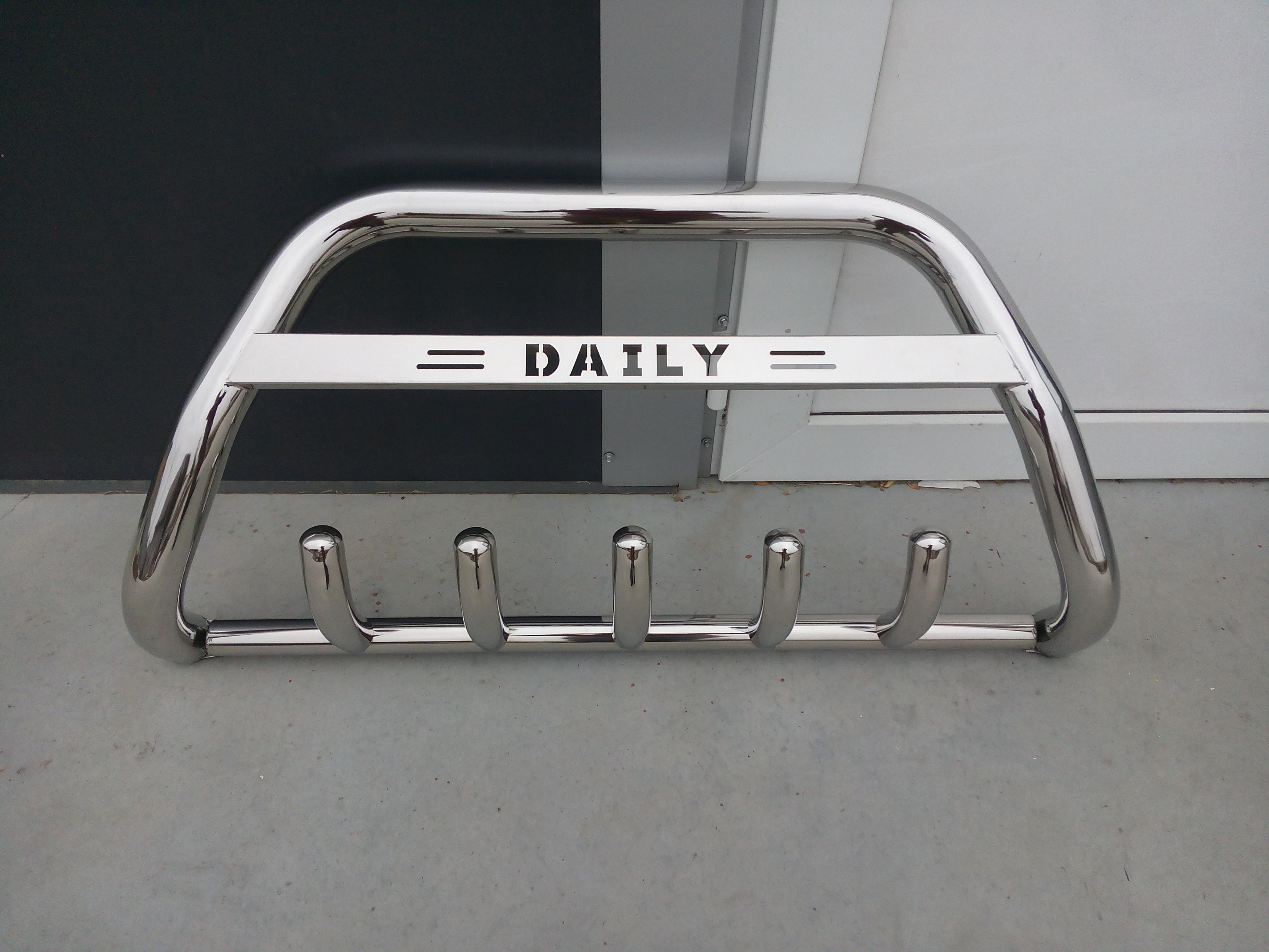 Bullbar inox Iveco Daily 2014-2018 [0]