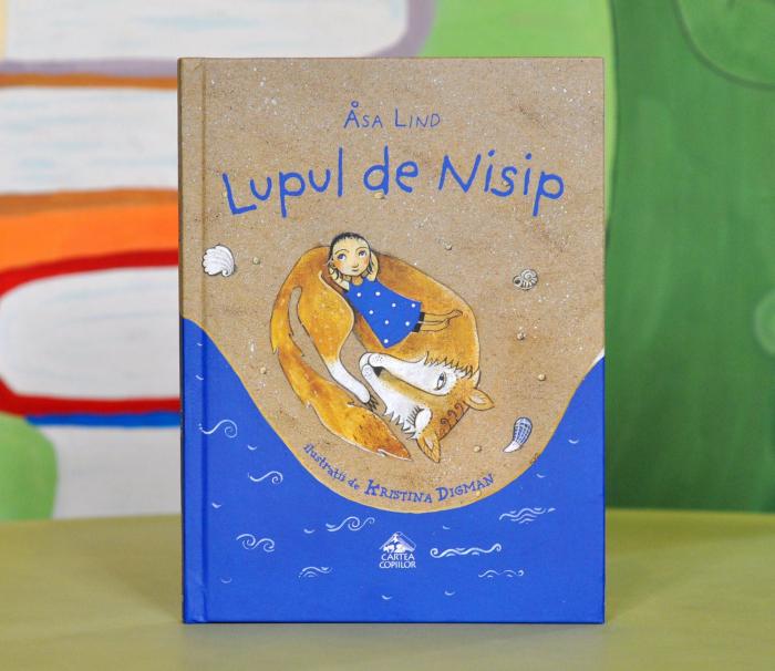 LUPUL DE NISIP - de Åsa Lind, cu ilustrații de Kristina Digman 0