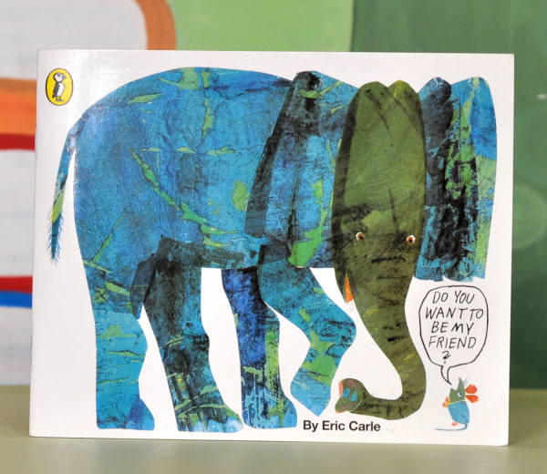 DO YOU WANT TO BE MY FRIEND? - Eric Carle 0