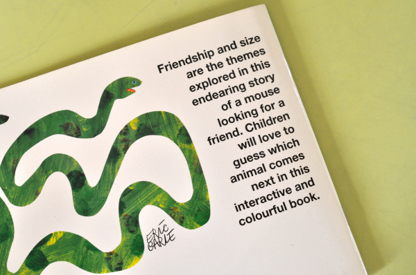 DO YOU WANT TO BE MY FRIEND? - Eric Carle 6
