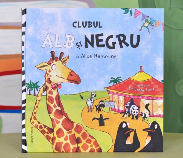 CLUBUL ALB SI NEGRU - Alice Hemming 0