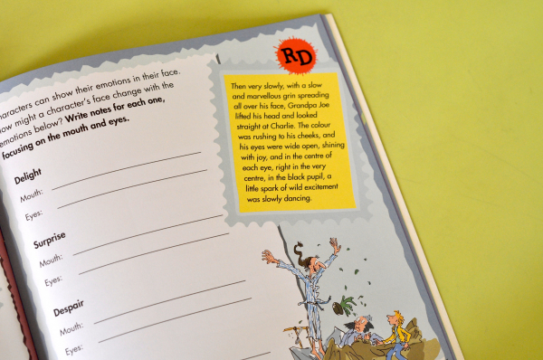 ROALD DAHL'S CREATIVE WRITING WITH CHARLIE AND THE CHOCOLATE FACTORY 3