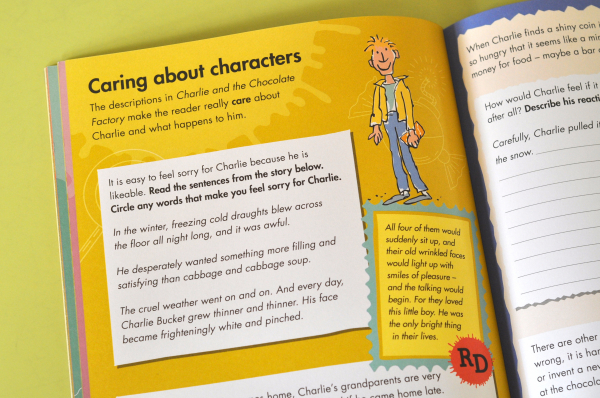 ROALD DAHL'S CREATIVE WRITING WITH CHARLIE AND THE CHOCOLATE FACTORY 4