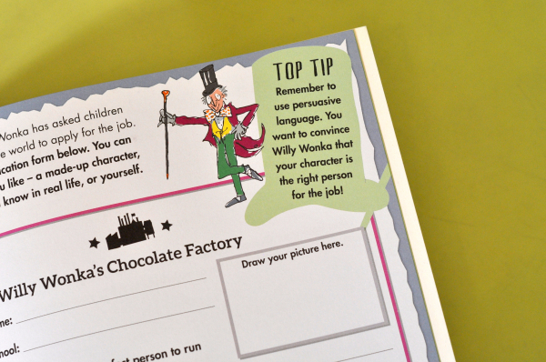 ROALD DAHL'S CREATIVE WRITING WITH CHARLIE AND THE CHOCOLATE FACTORY 5