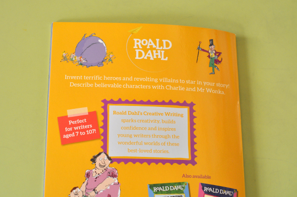 ROALD DAHL'S CREATIVE WRITING WITH CHARLIE AND THE CHOCOLATE FACTORY 6