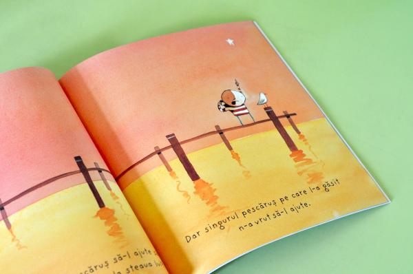 CUM SĂ PRINZI O STEA - Oliver Jeffers [4]