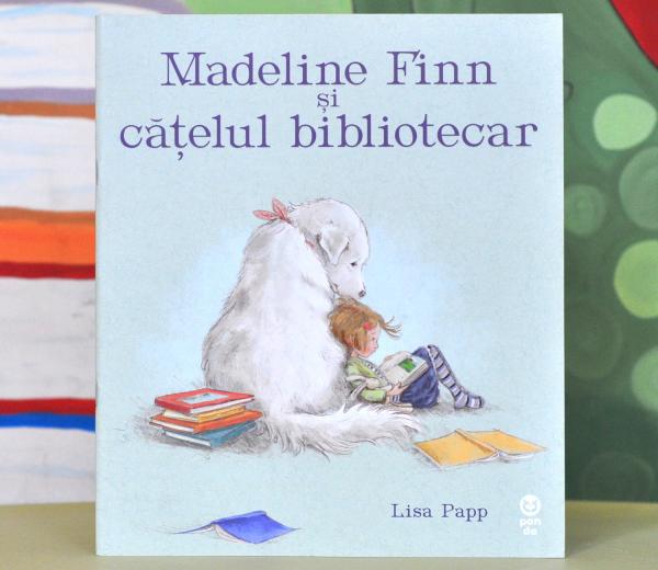 MADELINE FINN ȘI CĂȚELUL BIBLIOTECAR - Lisa Papp 0