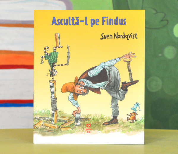 """ASCULTĂ-L PE FINDUS - (Seria """"Pettson și Findus"""") - Sven Nordqvist 0"""