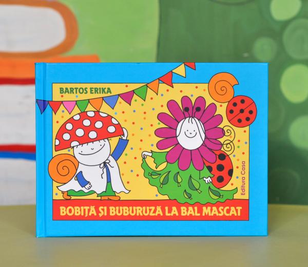 BOBIŢĂ ŞI BUBURUZĂ LA BAL MASCAT - Bartos Erika 0