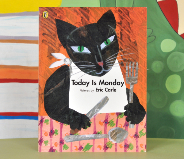 TODAY IS MONDAY - Eric Carle 0