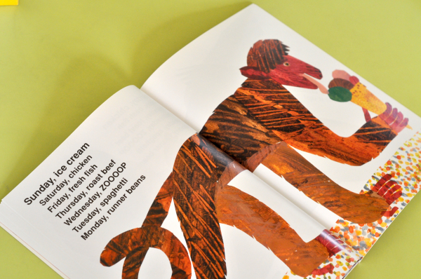 TODAY IS MONDAY - Eric Carle 4