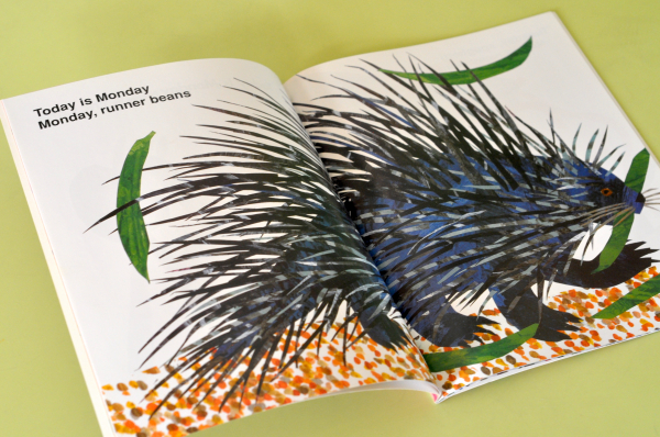 TODAY IS MONDAY - Eric Carle 2