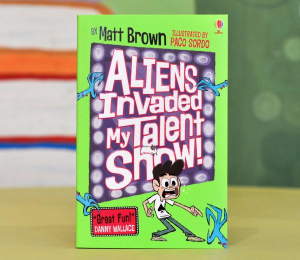 ALIENS INVADED MY TALENT SHOW! - Matt Brown 0