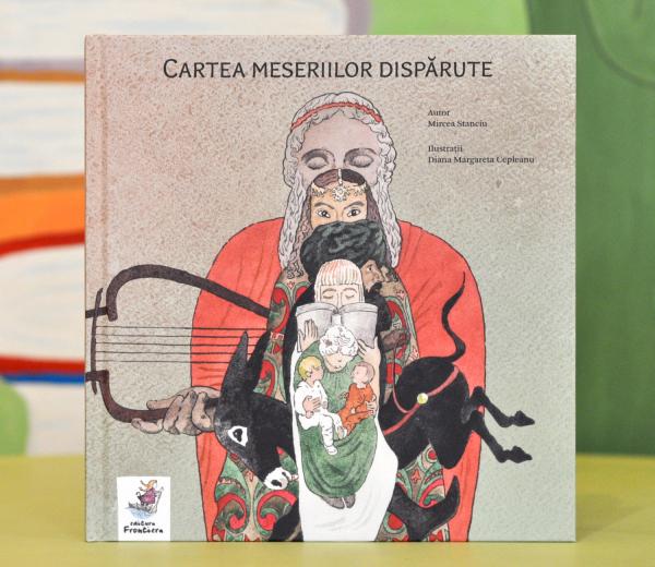 CARTEA MESERIILOR DISPĂRUTE - Mircea Stanciu 0