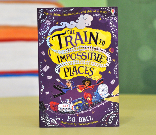 THE TRAIN TO IMPOSSIBLE PLACES -  P. G. Bell 0