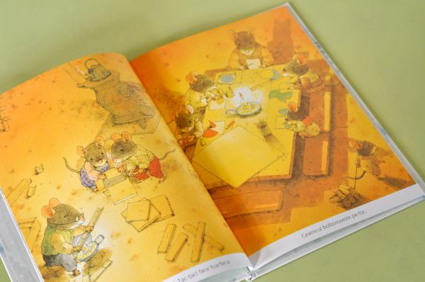 O ZI DE IARNĂ CU FAMILIA ȘORICEL - Kazuo Iwamura [2]