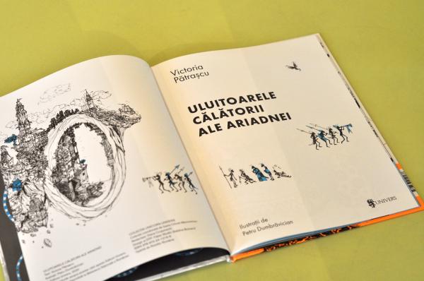 ULUITOARELE CĂLĂTORII ALE ARIADNEI -  Victoria Pătrașcu [1]