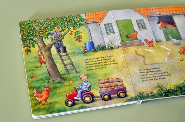 CARTE-PUZZLE - LA FERMĂ  - Anne Möller [3]