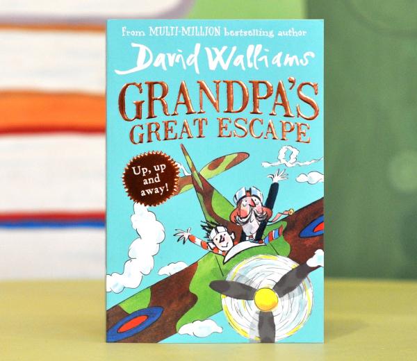 GRANDPA'S GREAT ESCAPE - David Walliams 0