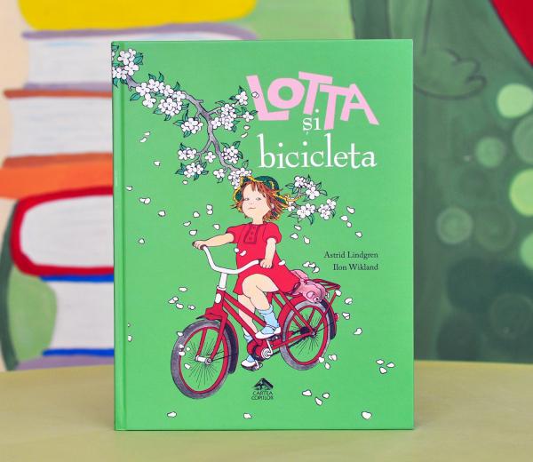 LOTTA ȘI BICICLETA - Astrid Lindgren 0