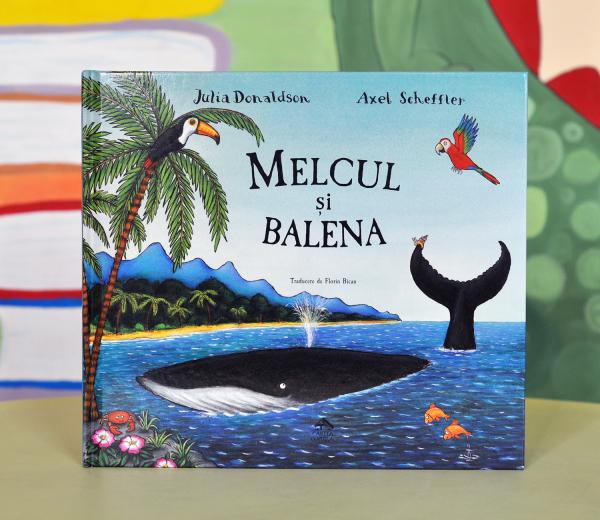MELCUL ȘI BALENA - Julia Donaldson 0