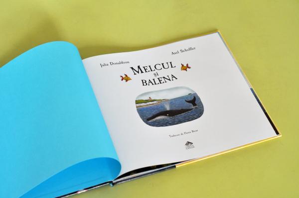 MELCUL ȘI BALENA - Julia Donaldson 1