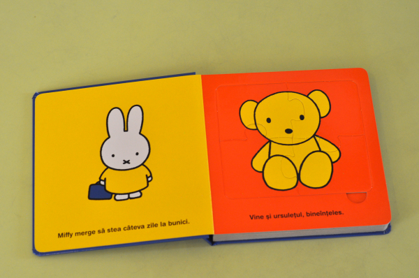 MIFFY MERGE LA BUNICI. CARTE CU PUZZLE - Dick Bruna 1