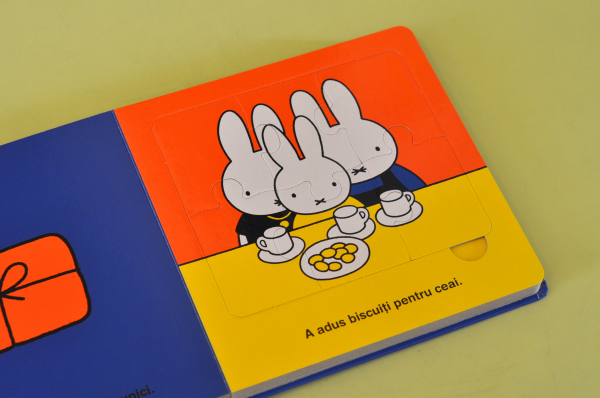 MIFFY MERGE LA BUNICI. CARTE CU PUZZLE - Dick Bruna 2