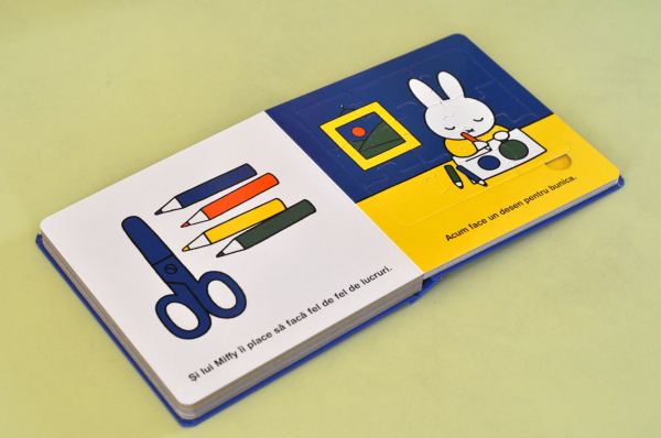 MIFFY MERGE LA BUNICI. CARTE CU PUZZLE - Dick Bruna 3