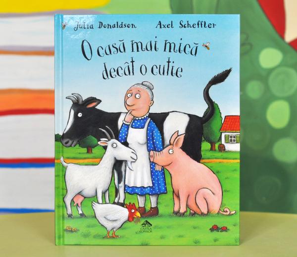 O CASĂ MAI MICĂ DECÂT O CUTIE - Julia Donaldson [0]