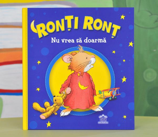 RONȚI RONȚ NU VREA SĂ DOARMĂ - Anna Casalis 0