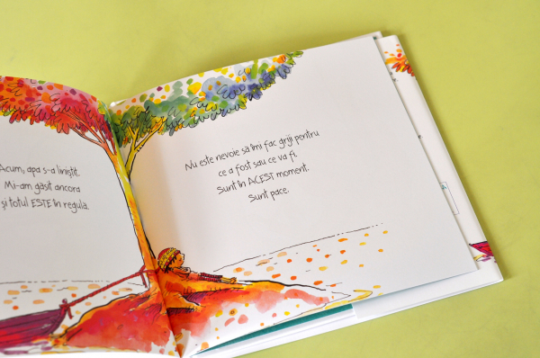 SUNT PACE: O CARTE DESPRE MINDFULNESS - Susan Verde, Peter H. Reynolds 4