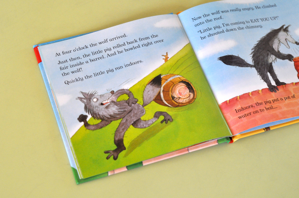 THE THREE LITTLE PIGS (LADYBIRD FIRST FAVOURITE TALES) - Nicola Baxter [4]