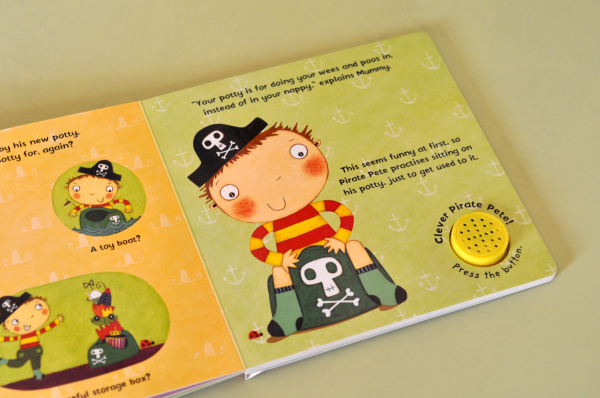 PIRATE PETE'S POTTY - Andrea Pinnington 2