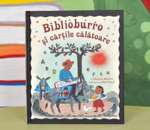 BIBLIOBURRO ȘI CĂRȚILE CĂLĂTOARE - Monica Brown [0]