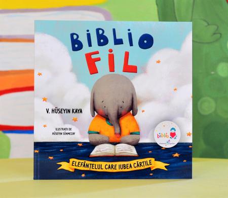 BIBLIOFIL: ELEFĂNȚELUL CARE IUBEA CĂRȚILE - V. Hüseyin Kaya0