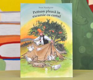 """PETTSON PLEACĂ ÎN EXCURSIE CU CORTUL - (Seria """"Pettson și Findus"""") - Sven Nordqvist [0]"""