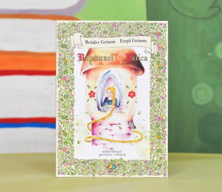 RAPUNZEL - FETICA - Frații Grimm - ediție bilingvă germană-română [0]