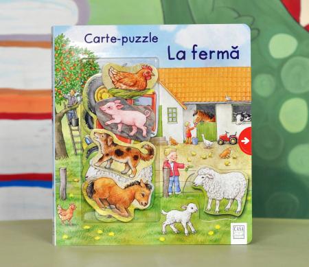 CARTE-PUZZLE - LA FERMĂ  - Anne Möller [0]