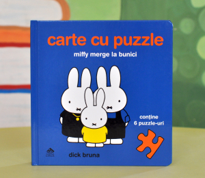 MIFFY MERGE LA BUNICI. CARTE CU PUZZLE - Dick Bruna0