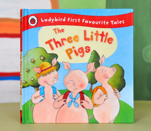 THE THREE LITTLE PIGS (LADYBIRD FIRST FAVOURITE TALES) - Nicola Baxter [0]